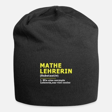 Maths Teacher Math Teacher Math Math Teacher Gift - Beanie