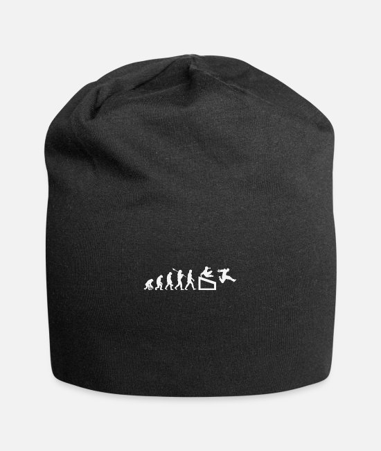 Darwin Caps & Hats - Parkour - Human evolution, Darwin - Beanie black