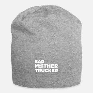 Monster Truck Truck Happy truck driver trailer cargo - Beanie