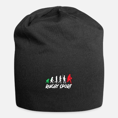 Football Game Rugby Sport Evolution History Gift Design - Beanie