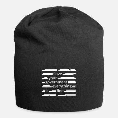 Government Censorship government - Beanie