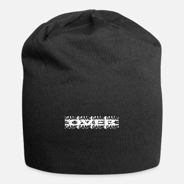 Game Over Game over, game is over, gamer, gaming, game - Beanie