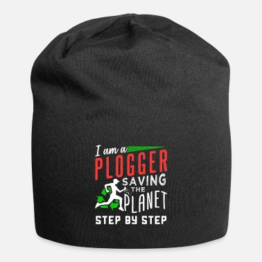 Plogger I am a Plogger - Saving the Planet step by step - Beanie