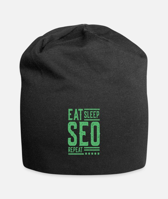 Marketing Manager Caps & Hats - Optimize SEO search engine optimization - Beanie black
