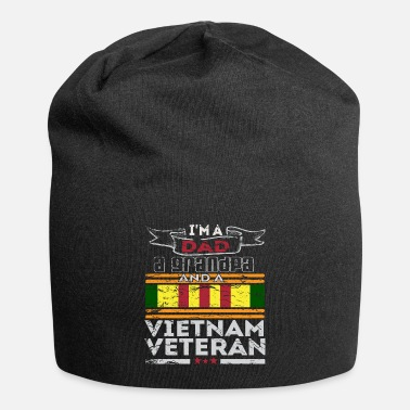 Grandpa I'm A Dad A Grandpa And A Vietnam Veteran - Beanie