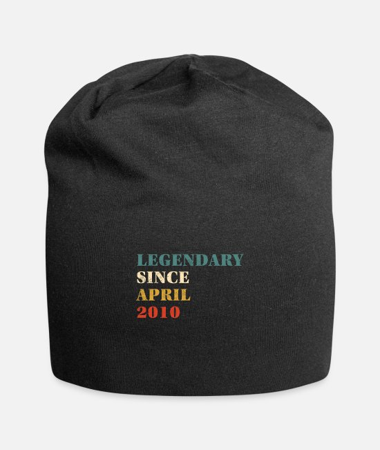 Age Caps & Hats - Legendary Since April 2010 - Beanie black