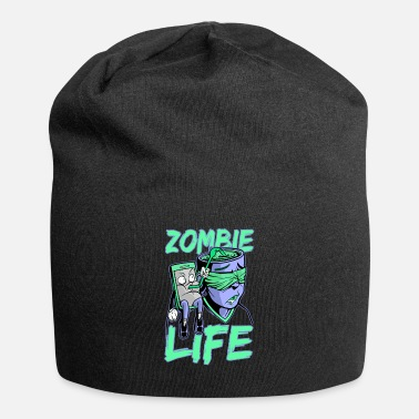 Cell Phone Addiction Smartphone cell phone addiction zombie life - Beanie