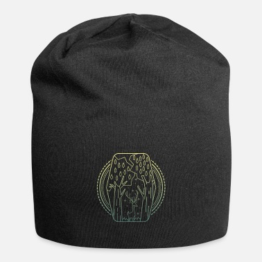 Worker Forest abstract - Beanie