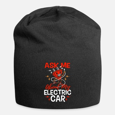 Laden Ask Me About My Electric Car Geschenk Elektroauto - Beanie
