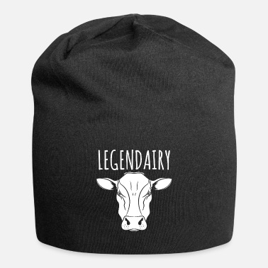 Cow Cow Lover Gift - Legendairy Animal - Beanie
