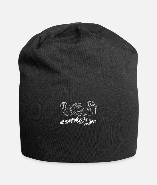 Space Caps & Hats - astronomy - Beanie black
