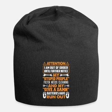 Pregnancy I Am Out Of Order Until Further Notice Funny Shirt - Beanie