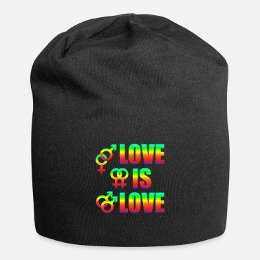 Diverse Love Is Love Homoseksuelle lesbiske Love Freedom - Beanie