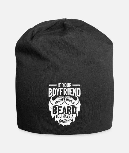 Training Caps & Hats - If your friend has no beard Funny & Sayings - Beanie black