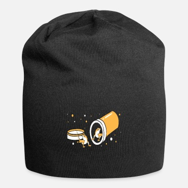Crawl Snake Happy pills lizards motif - Beanie