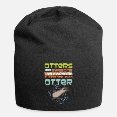Hilarious Hilarious Otters Are Awesome Gift design 4 Otter - Beanie