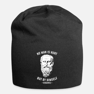 Trolling No Man Is Hurt Philosopher Diogenes Of Sinope - Beanie
