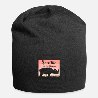 Fate Save The Chubby Unicorns Nashörner Lustig Vintage - Beanie