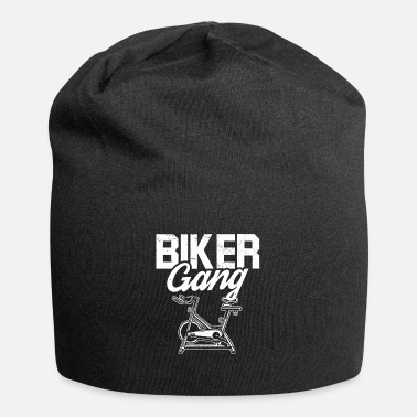 Biker Gang Biker Gang Spin Saying Gym Workout Class - Beanie