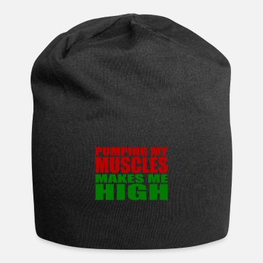 Biceps Bodybuilding Training Motivation Pumps - Beanie