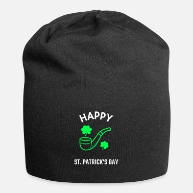 Hippie Muziek St. Patrick's Day Pipe Luck Ireland - Beanie