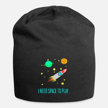 I Need Space To Play, Funny, For Kids, Gift idea, - Beanie