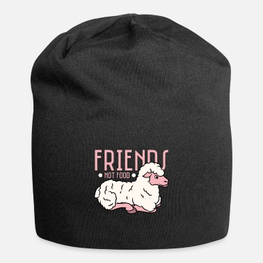 Friends Funny Sheep Design Friends Not Food - Beanie