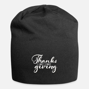 Glad Tak For At Give Takk Gud giver takksigelse glad Thanksgiving - Beanie