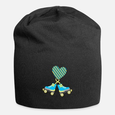 Chassis Roller skates on the heart - Beanie
