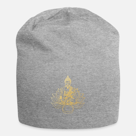 Gift Idea Caps & Hats - Buddhism - Beanie heather grey