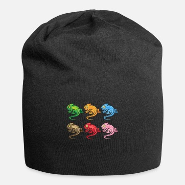 Madagascar Chameleon animals - Beanie