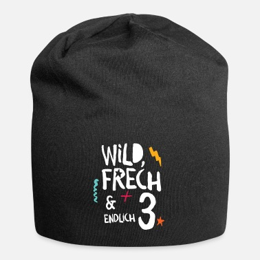 Wild Frech & Finally 3rd Child Third Birthday - Beanie