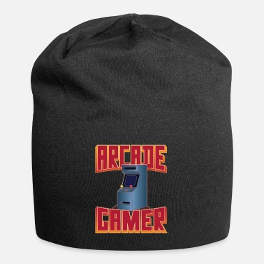 Retro 80's Arcade Gamer, Slot Machines 8-bit - Beanie