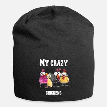 Rooster My crazy chickens - Beanie