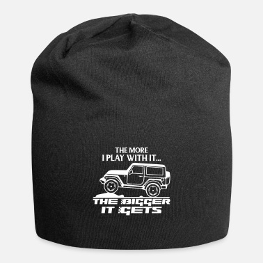 Funny Jeep - The More I Play - Beanie