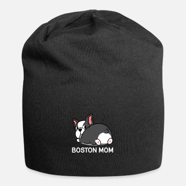 College Boston Terrier Mom Dog Mom Haustier Tierliebhaber - Beanie