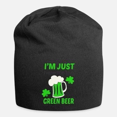 Green Beer Here for green beer - Beanie