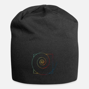 Healing Power spiral in square 3 - Beanie