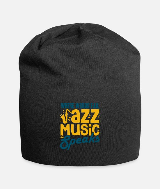 Jazz Caps & Hats - jazz - Beanie black
