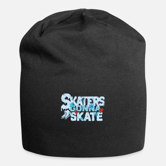 Winter Sports Caps & Hats - Ice skating - Beanie black