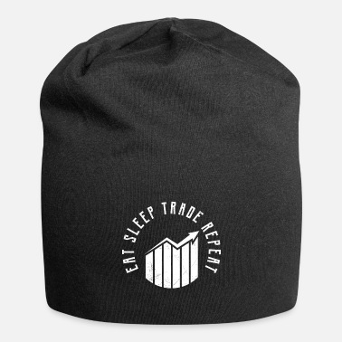 Tradition Eat Sleep Trade Repeat, trader daytrader trader - Beanie