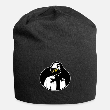 Radioactive Pandemic Gas Mask - Soldier Apocalypse T-Shirt. - Beanie