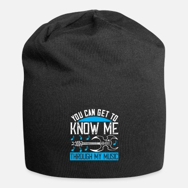 Turntable Music - Know me through my music - Beanie