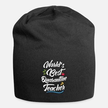 Héros World Best Quarantine Teacher School Funny Teacher - Beanie