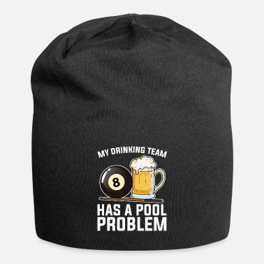 Pool Billard Pool Player Gift I Billard à 8 balles - Beanie