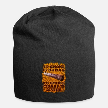 Guys Cigar smoking smoker gift - Beanie