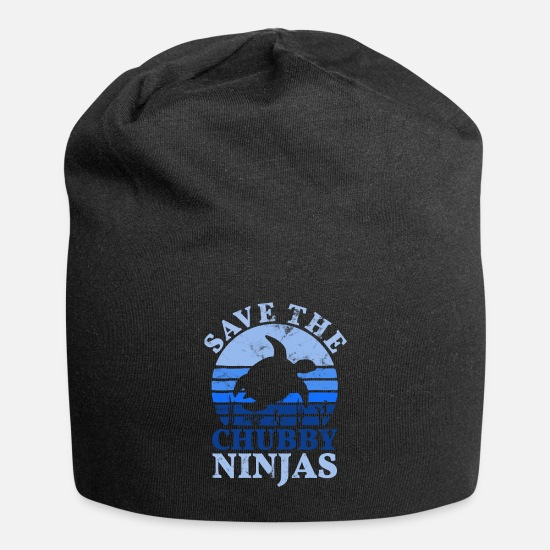 Turtle Caps & Hats - Animal welfare animal rights activists - Beanie black