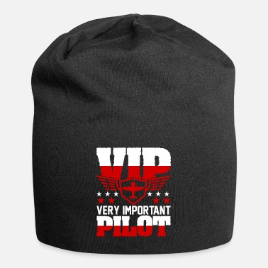 Pilot Airplane Aircraft Aviator Commercial Airline Pilot - Beanie