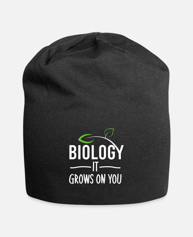 Uni Caps & Hats - biology - Beanie black