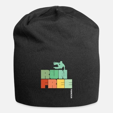 Running Parkour Design - Run Free Parkour - Beanie